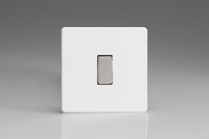 Interrupteur Design V&V Rocker Switch Blanc Mat
