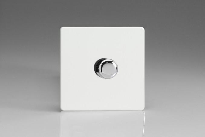 Variateur LED Design Blanc Mat