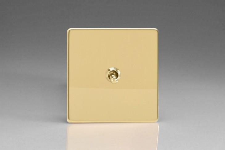 Permutateur Design Toggle Switch Laiton Miroir