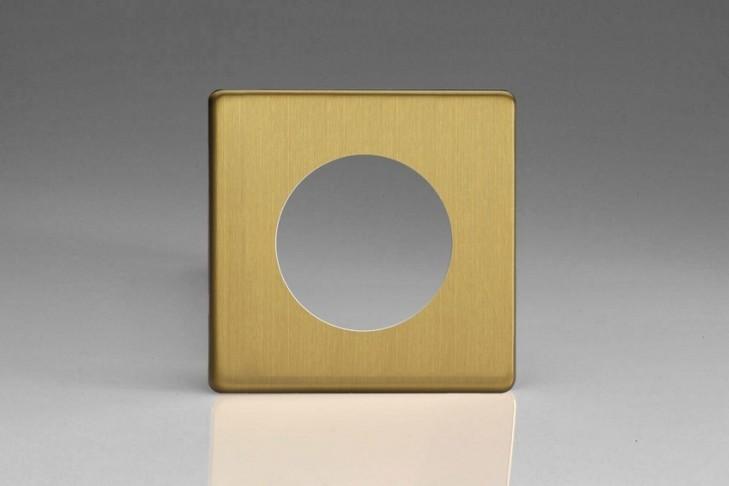 Plaque Composable Simple Laiton Brossé