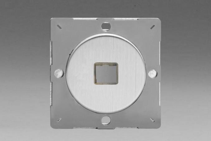 Module Data pour USB 1 Port Acier Brosse