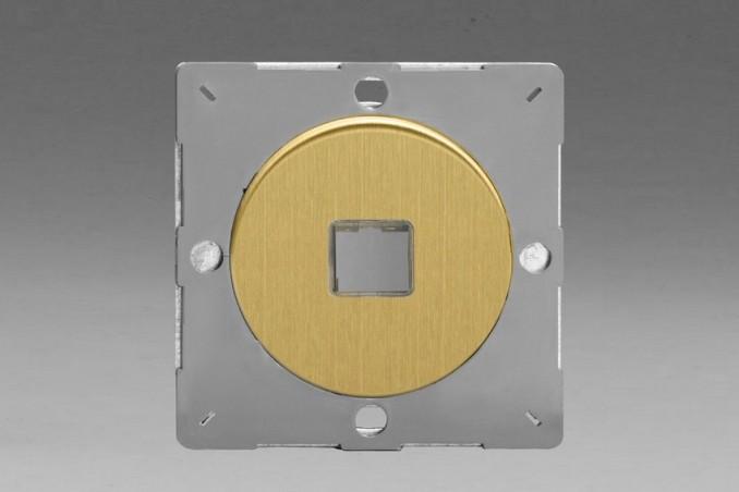 Module Data pour USB 1 Port Laiton Brosse