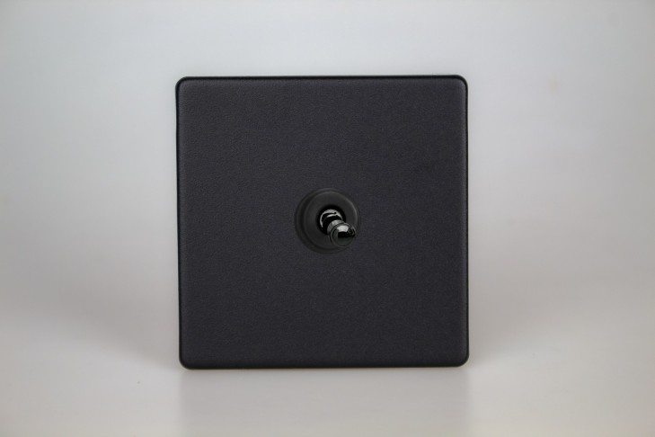 Permutateur Toggle Switch Noir Mat