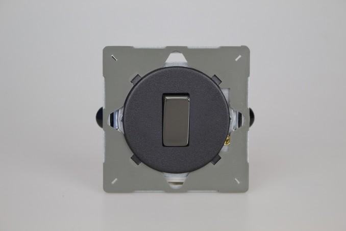Module Interrupteur V&V Rocker Switch Noir Mat