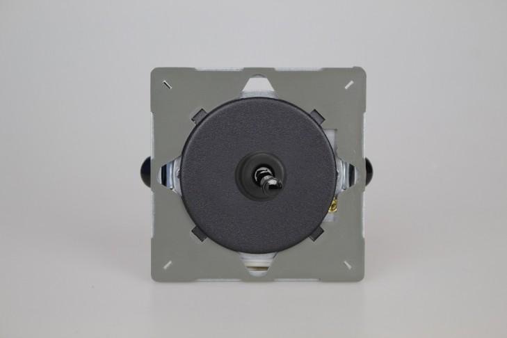 Module Permutateur Toggle Switch Noir Mat