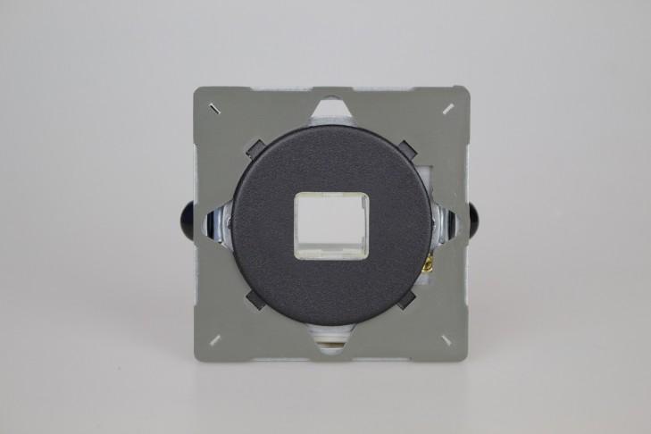 Module Data 1 Port pour RJ12, RJ45 ou USB Noir Mat