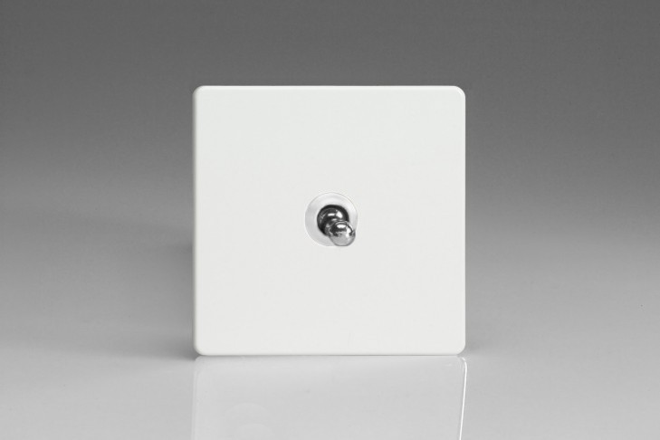 Interrupteur Design V&V Toggle Switch Blanc Mat