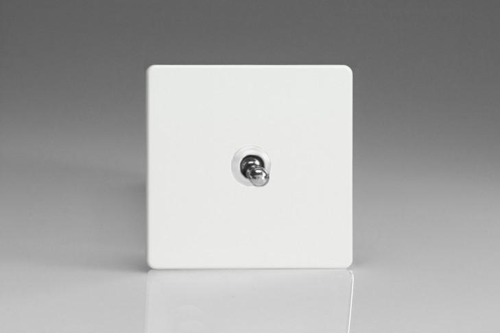 Interrupteur Design V&V Toggle Switch Blanc Mat