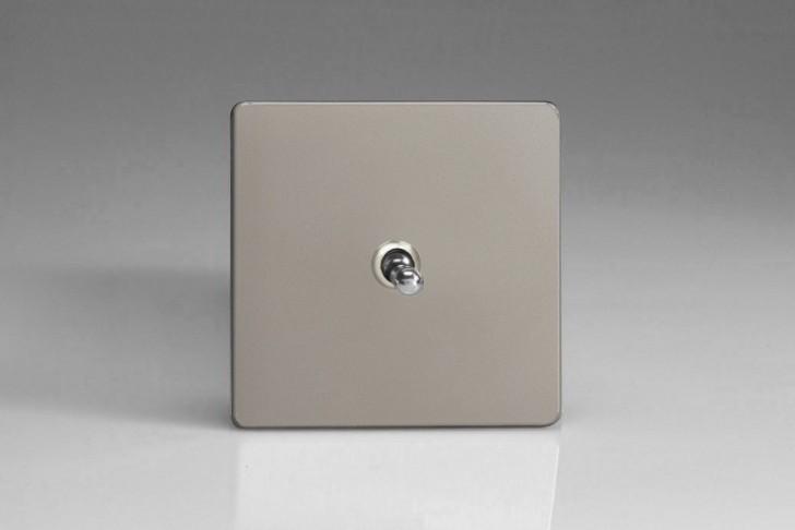 """Interrupteur Design Va et Vient à Bascule """"Toggle Switch"""" Satin"""