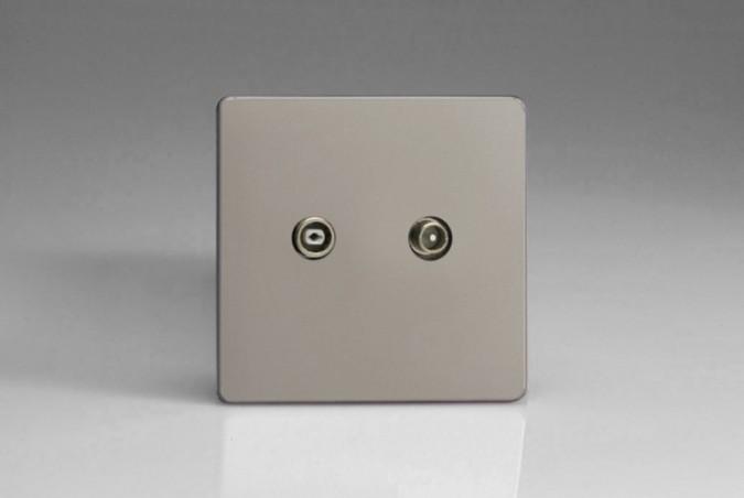Prise Antenne / TV Design Satin