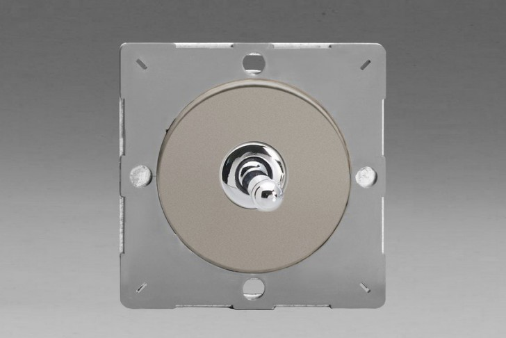 Module Interrupteur Design V&V Toggle Switch Satin