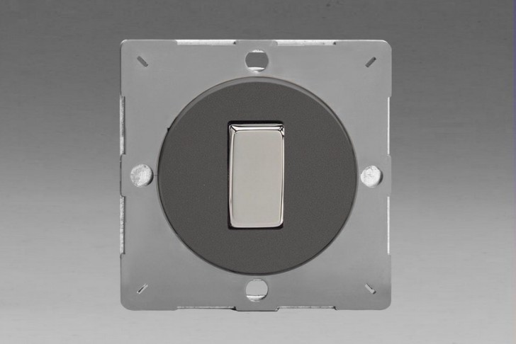 Module Interrupteur Design V&V Rocker Switch Étain