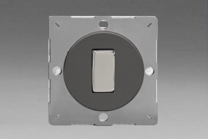 Module Interrupteur Design V&V Rocker Switch Étain