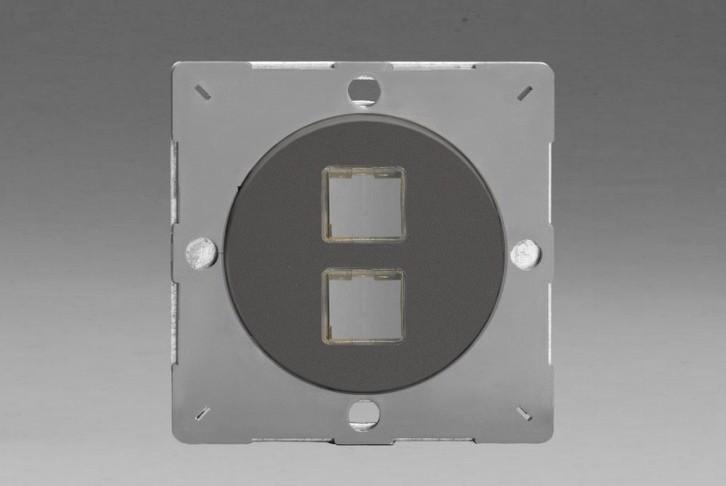Module Data 2 Ports pour USB RJ45 ou RJ12 Etain