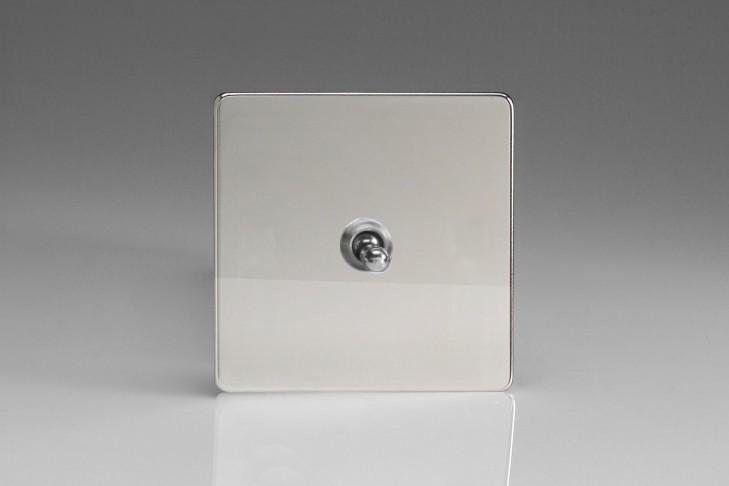 """Interrupteur Design Va et Vient à Levier """"Toggle Switch"""" (goutte d'eau) Chrome Miroir"""